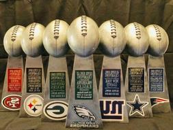 super bowl championship replica trophy