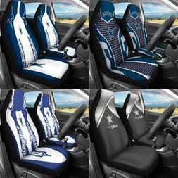 USA 2 Pack for Dallas Cowboys Car Seat Cover Universal Auto