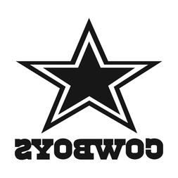 x2 NFL Dallas Cowboys Vinyl Decal for Truck Car Window Stick